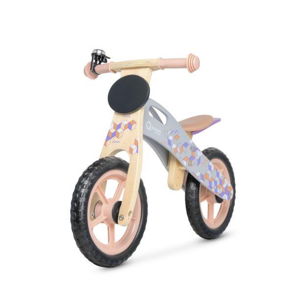 Balans bicikl bez pedala Lionelo CASPER pink