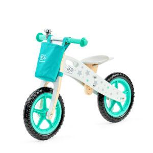Balans bicikl bez pedala Kindekraft Runner STARS sa torbicom