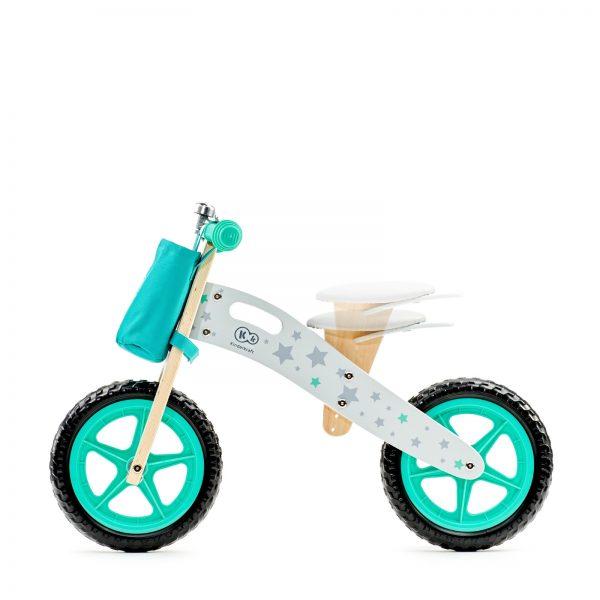 Balans bicikl bez pedala Kindekraft Runner STARS, sedišite podesivo po visini