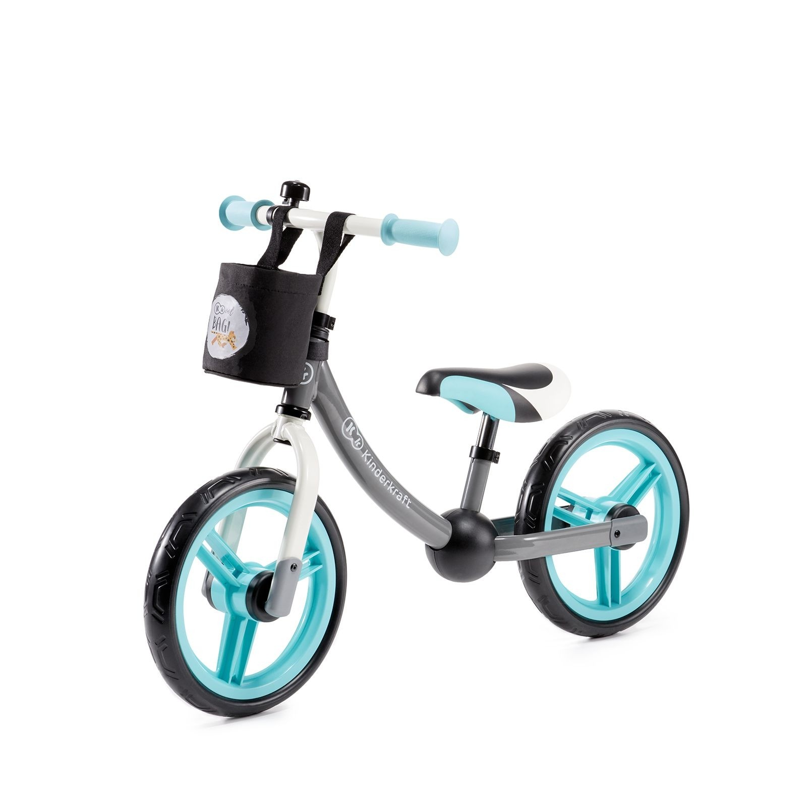 Balans bicikl guralica Kinderkraft 2WAY NEXT turquoise