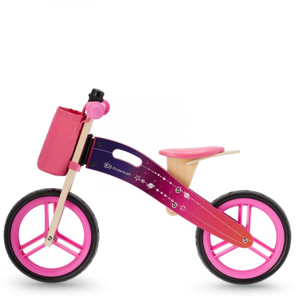 Bicikl bez pedala Kinderkraft Runnner GALAXY pink
