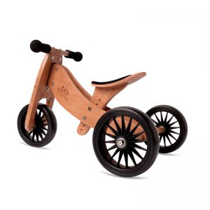 Balans bicikl tricikl Kinderfeets TinyTot Plus Bamboo, 3 točka