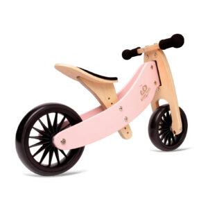 Balans bicikl tricikl Kinderfeets TinyTot Plus Pink, 2 točka
