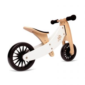 Balans bicikl tricikl Kinderfeets TinyTot Plus White, 2 točka