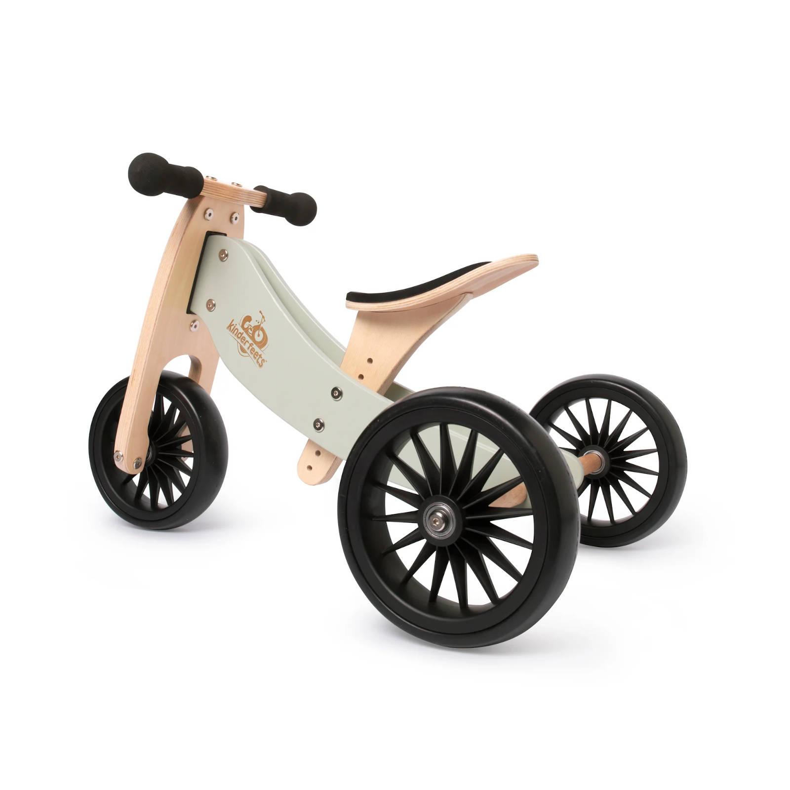 Balans bicikl tricikl Kinderfeets Tiny Tot PLUS Silver Sage