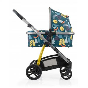 Cosatto kolica za bebe 2u1 WOW foxtale kolevka
