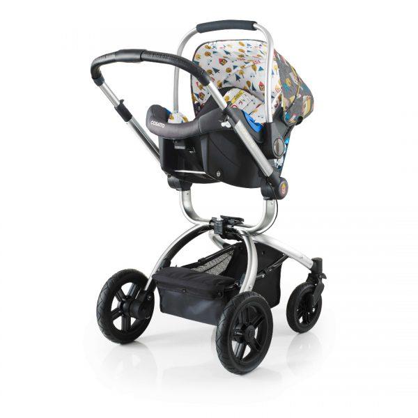 Cosatto kolica za bebe 3u1 OOBA hyyge houses, sportsko sedište