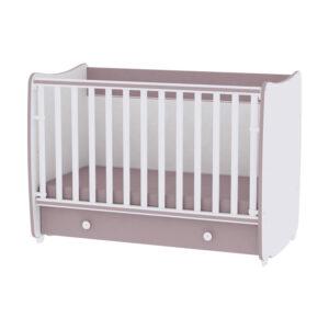 Drveni krevetac za bebe Lorelli Bertoni DREAM capuccino 10150420025