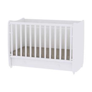 Drveni krevetac za bebe Lorelli Bertoni DREAM white 10150420024