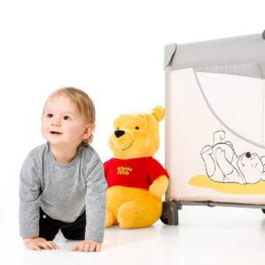 Hauck sklopivi krevetac Hauck DREAM'N PLAY GO Toybar Winnie Pooh