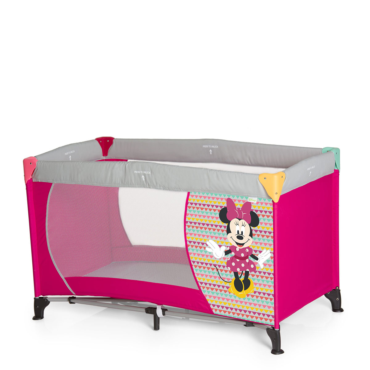 Hauck sklopivi krevetac Hauck DREAM'N PLAY Minnie pink