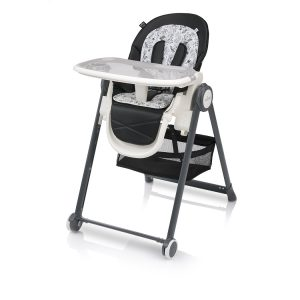 Baby design stolica za hranjenje PENNE black