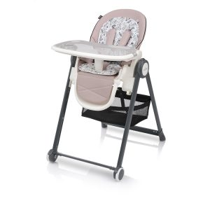 Baby design stolica za hranjenje PENNE pink