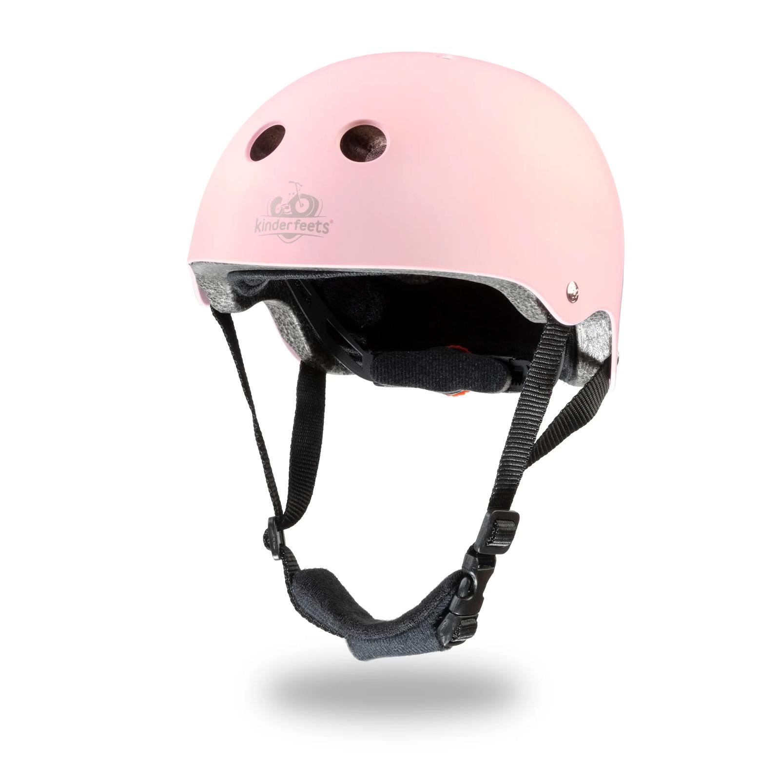 Kaciga za bicikl Kinderfeets matte pink