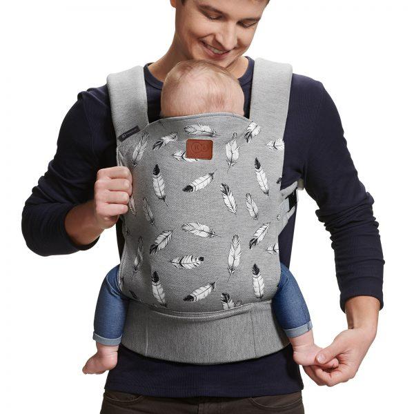 Kengur nosiljka Kinderkraft MILO gray