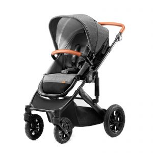 Kindekraft kolica za bebe 2 u 1 PRIME siva, sportsko sedište