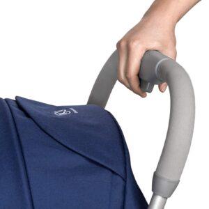 Kindekraft kišobran kolica za bebe PILOT plava, drška