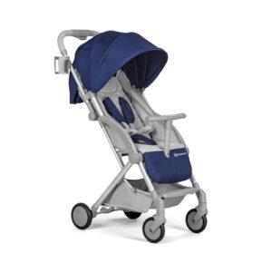 Kindekraft kišobran kolica za bebe PILOT plava