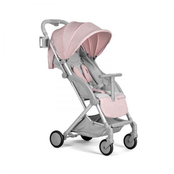Kindekraft kišobran kolica za bebe PILOT roze