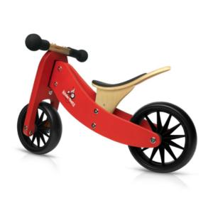 Kinderfeets Tiny Tot balans bicikl 2u1 crveni