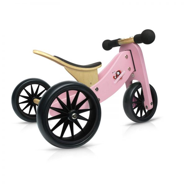 Kinderfeets Tiny Tot balans bicikl 2u1 pink