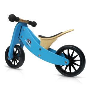 Kinderfeets Tiny Tot balans bicikl 2u1 plavi
