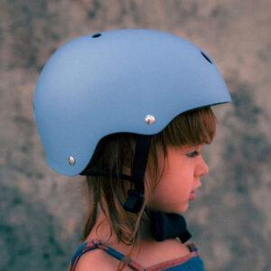 Kinderfeets kaciga za bicikl blue