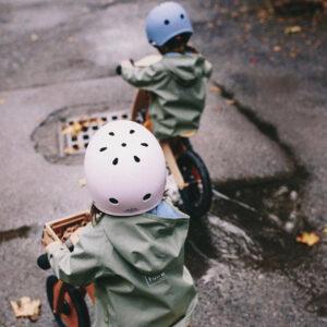 Kinderfeets kaciga za bicikl pink & blue