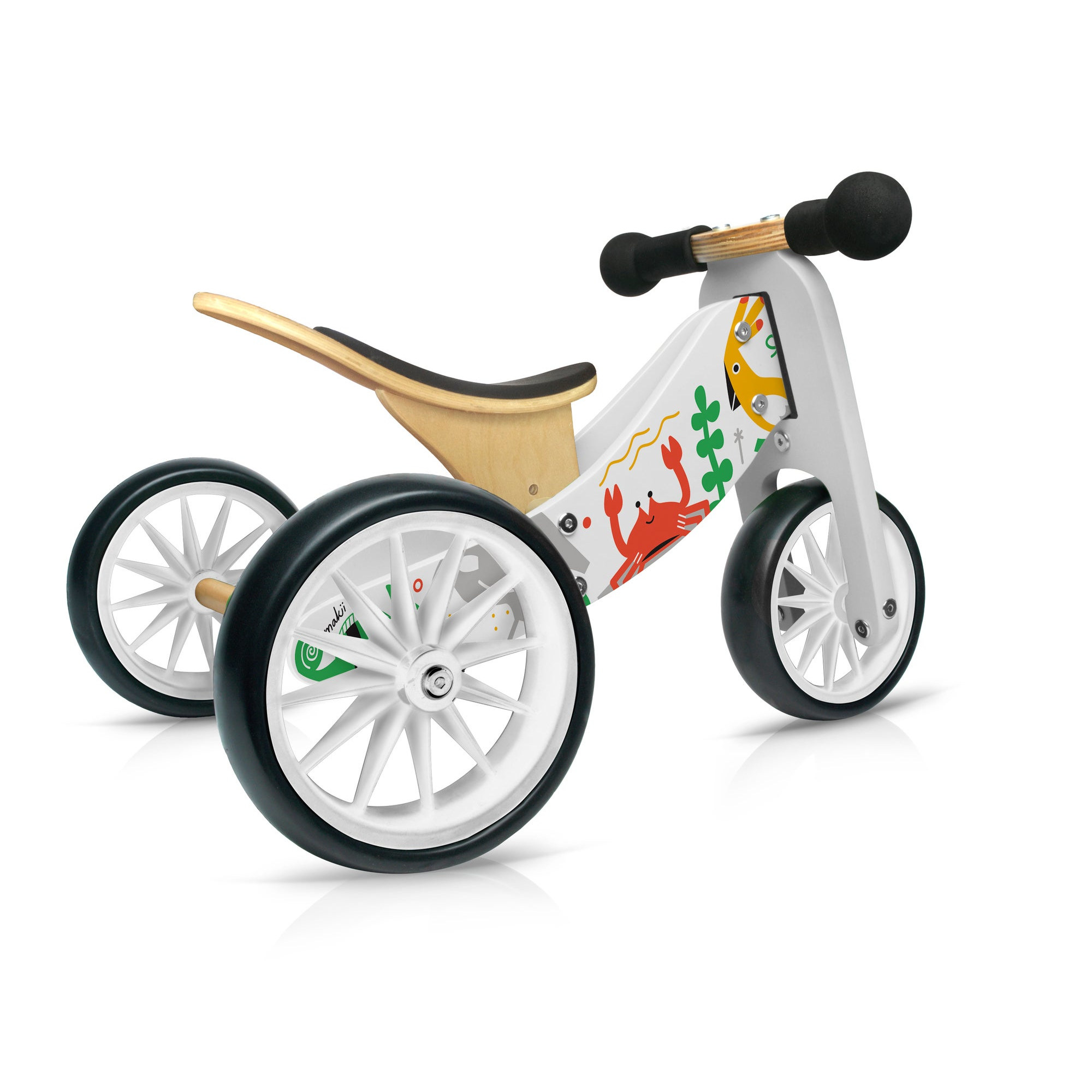 Kinderfefeets Tiny Tot MAKII balans bicikl-tricikl