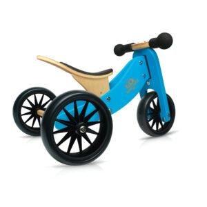 Kinderfefeets Tiny Tot Blue balans bicikl-tricikl