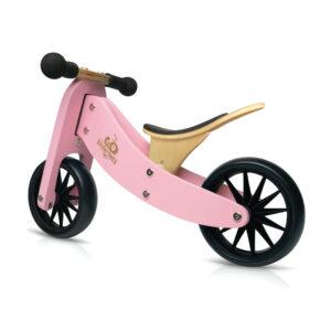 Kinderfefeets Tiny Tot Pink balans bicikl