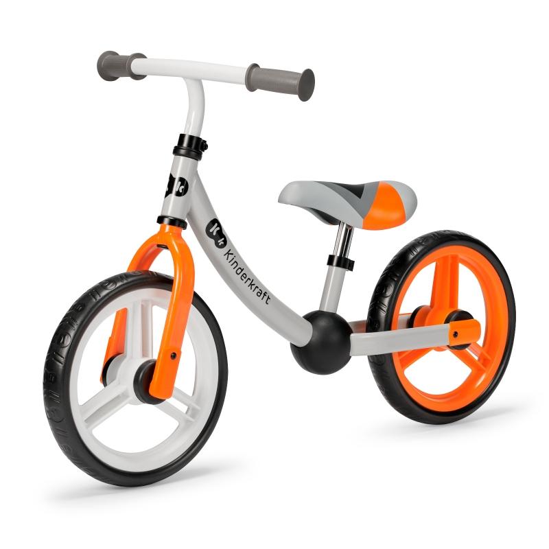 Kinderkraft 2way next 2021 blaze orange metalni balans bicikl