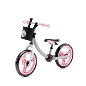 Kinderkraft 2WAY NEXT light pink balans bicikl
