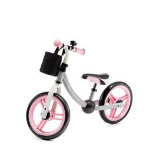 Kinderkraft 2WAY NEXT light pink balans bicikl