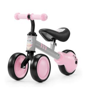 Kinderkraft CUTIE pink balans bicikl bez pedala