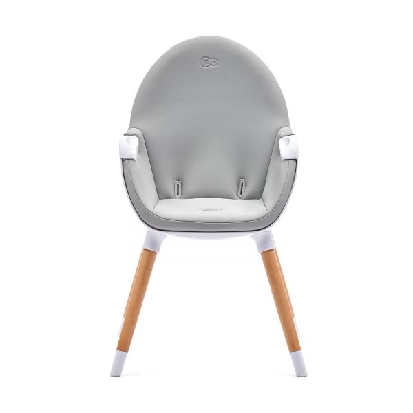 Kinderkraft FINI hranilica za bebe, bela, stolica za hranjenje za manju decu