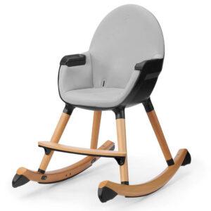 Kinderkraft FINIO black-white dečija stolica za ljuljanje