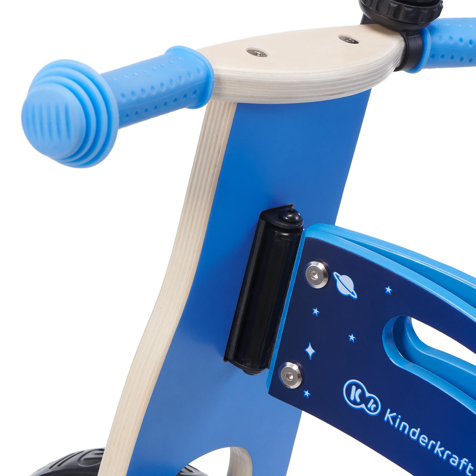 Balans bicikl guralica Kinderkraft GALAXY blue, volan
