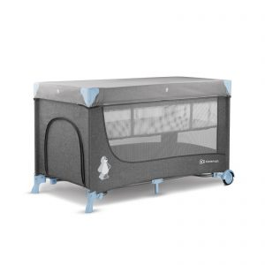 Prenosivi krevetac Kinderkraft JOY blue sa dodacima