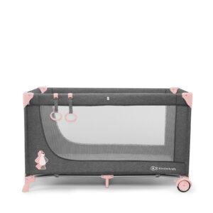 Prenosivi krevetac Kinderkraft JOY pink