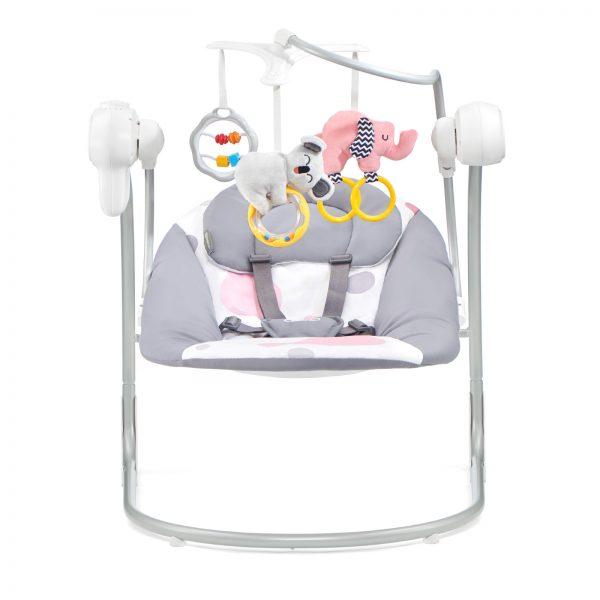 Kinderkraft MINKY pink dečija stolica za ljuljanje