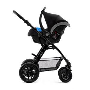 Kinderkraft MOOV 3u1 kolica za bebe, nosiljka i auto sedište
