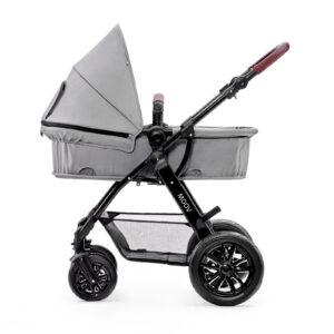 Kinderkraft MOOV grey 3u1 kolica za bebe