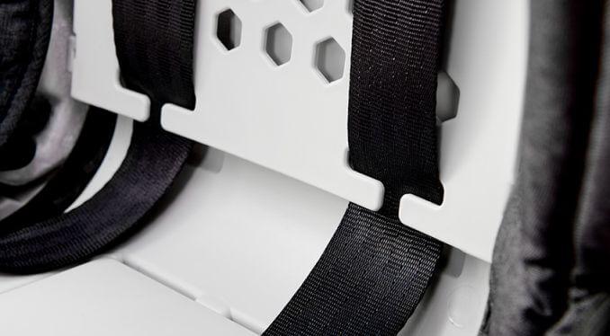Kinderkraft ONETO3 auto sedište 9-36kg ISOFIX detalj