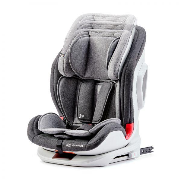 Kinderkraft ONETO3 grey auto sedište 9-36kg ISOFIX