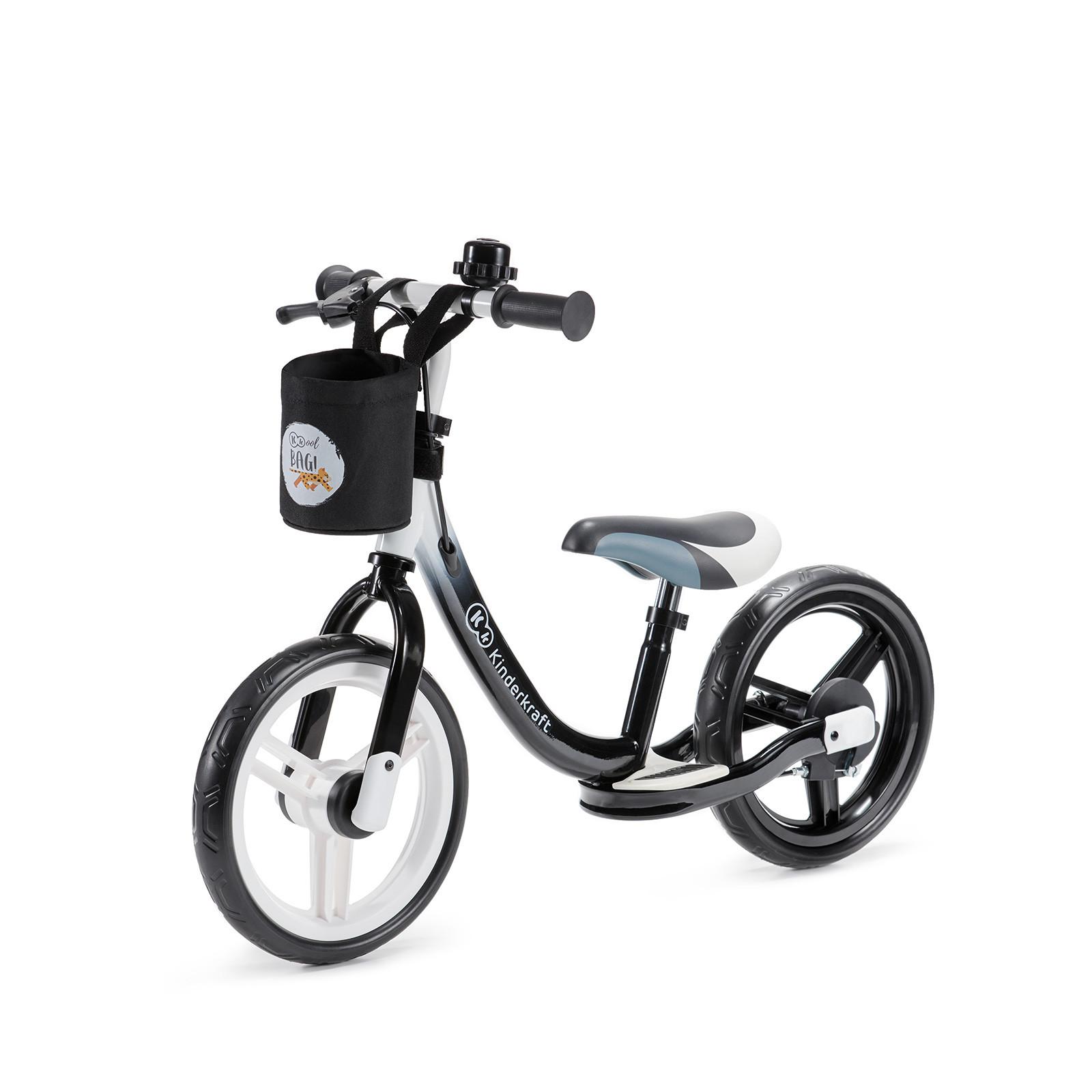 Kinderkraft SPACE black dečiji bicikl guralica