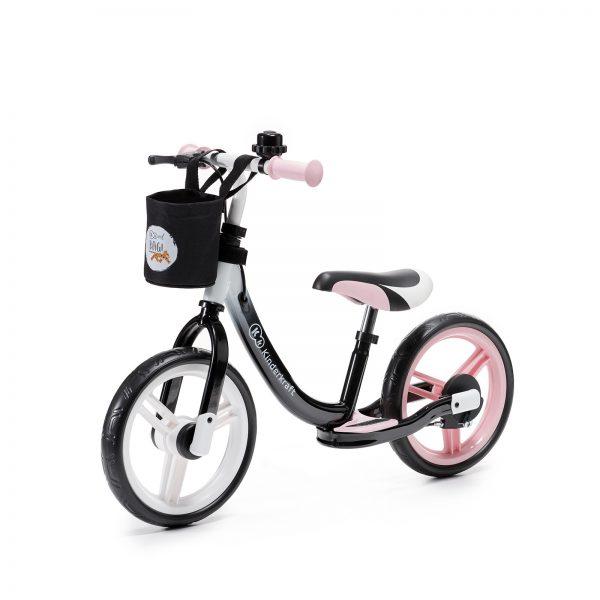 Kinderkraft SPACE pink dečiji bicikl guralica