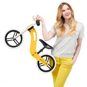 Kinderkraft UNIQ honey balans bicikl guralica detalj9