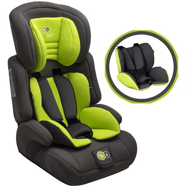 Kinderkraft auto sedište COMFORT UP zeleno
