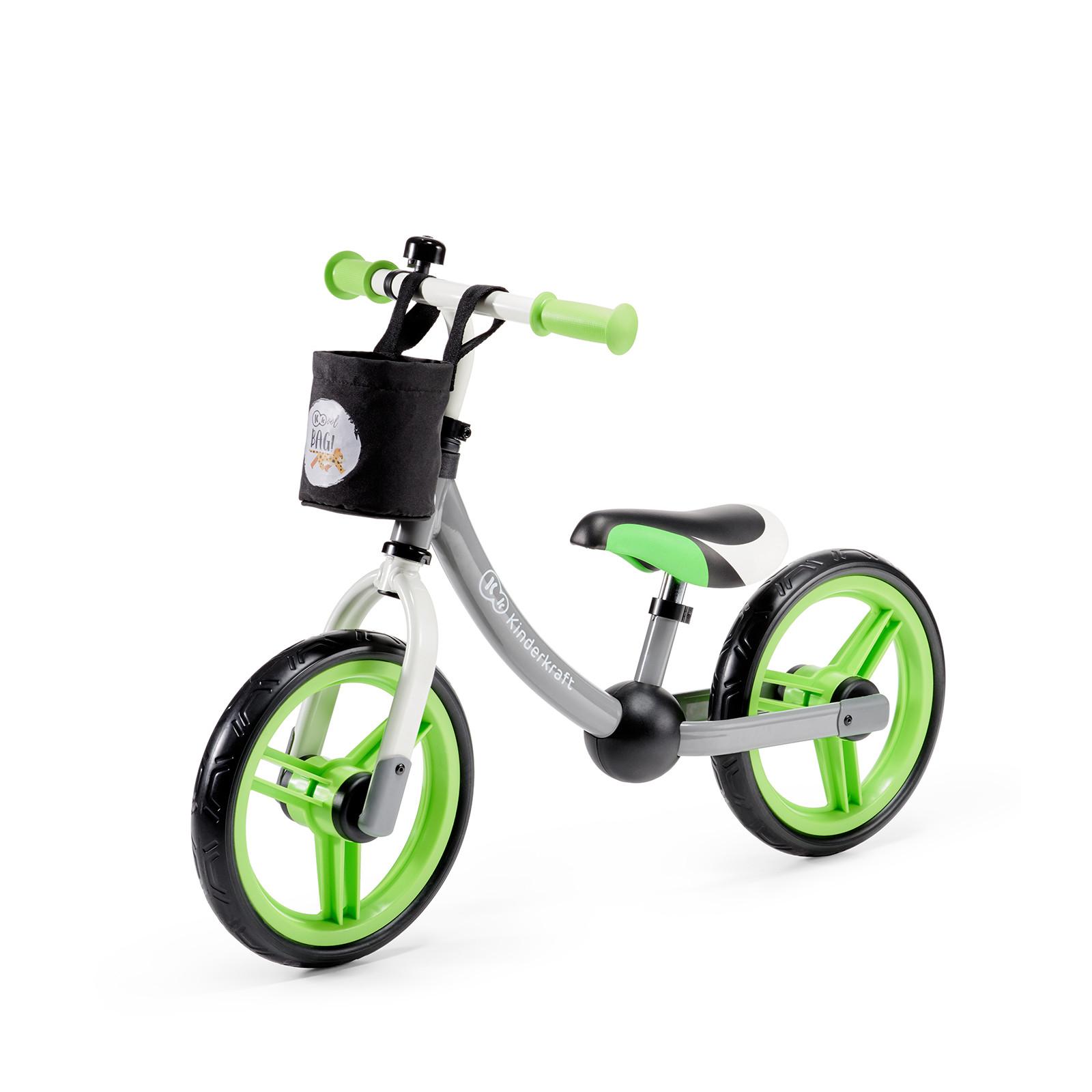 Kinderkraft bicikl guralica 2WAY NEXT green grey
